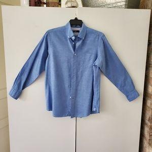 Cremieux blue shirt sz. M